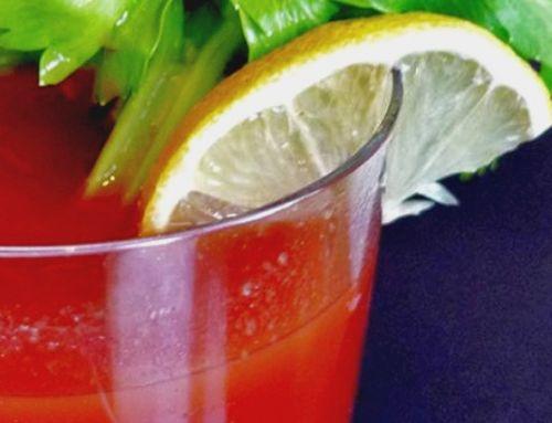 Neapolitan Herb Balsamic Bloody Caesar