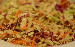 Honey Ginger Coleslaw