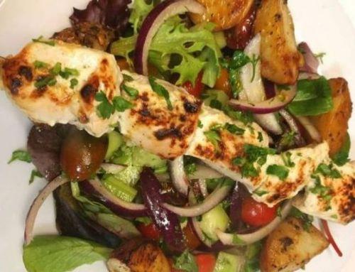 Greek Style Chicken Souvlaki