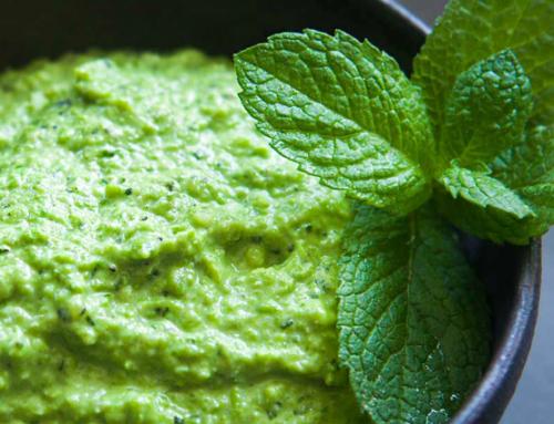 Anne-Marie's Fresh Pea Dip/Sauce