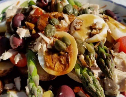 Asparagus Salad Niçoise