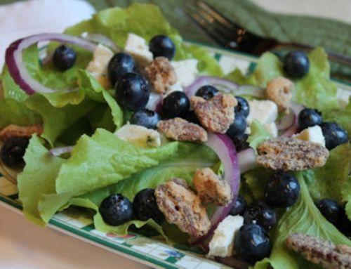 A Blue Blue Salad