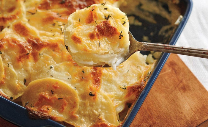 Tuscan Potato Gratin