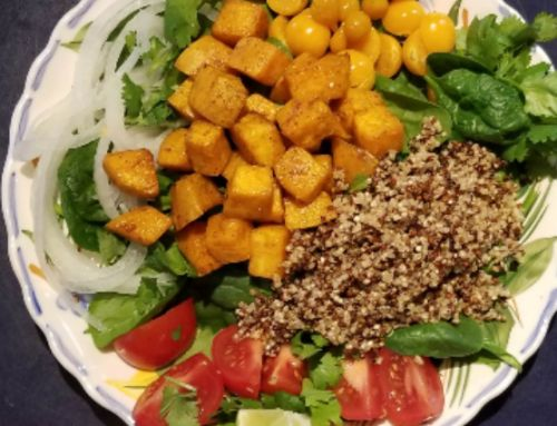 Roasted Sweet Potato & Quinoa Salad