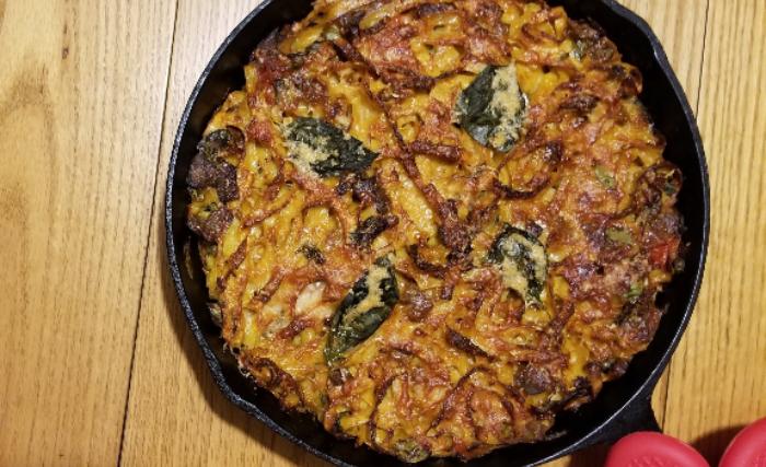 pasta recipe gourmet olive oil