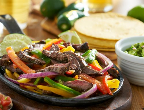Spicy Steak Fajitas