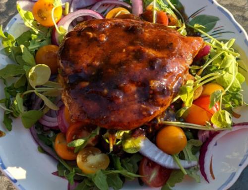 Warm Honey Chicken Salad
